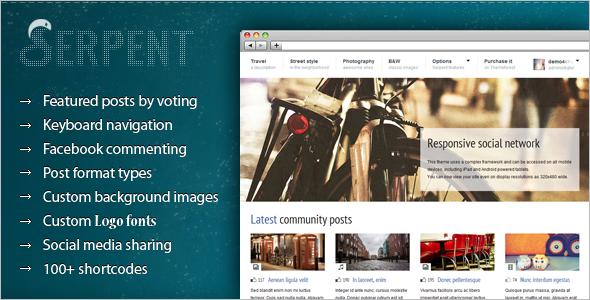 Socal-Networking-Blog-Website-Template