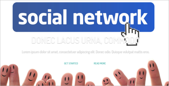 Socal Networking PageWebsite Template