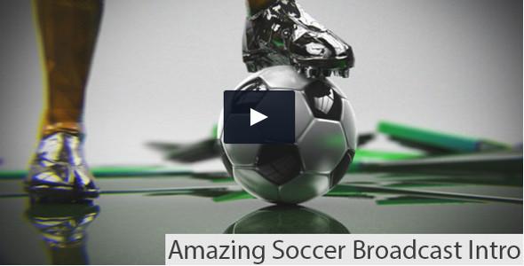 Soccer Broadcast Intro / Promo video template