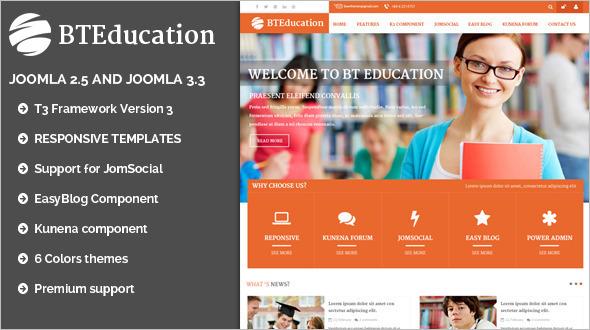Social Networking Education WordPress Theme