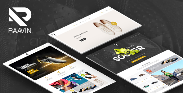 Sport Shoes WooCommerce WordPress Template