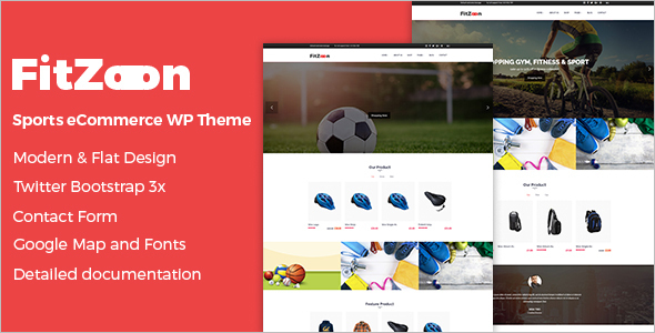 Sport WooCommerce WordPress Theme