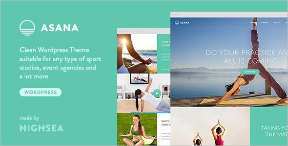 Sport Yoga Website Template