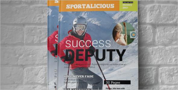 Sportalicious Magazine Template