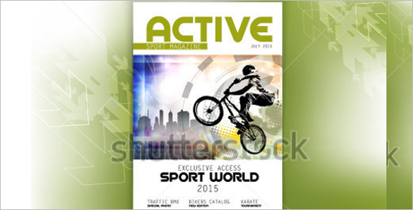 Sports Magzine Model Template