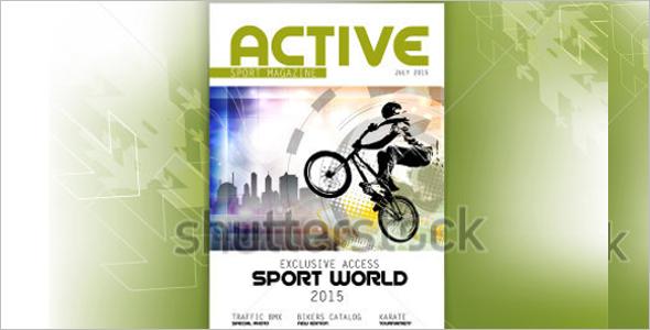 Sports Magzine Model Template