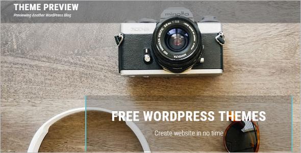 Square Godaddy WordPress Template