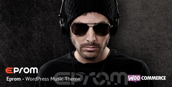 Stansared Music WordPress Template