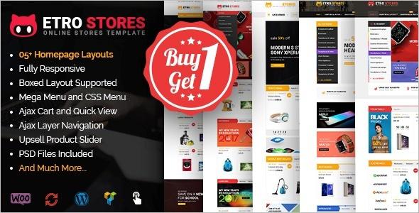 Store WooCommerce WordPress Theme