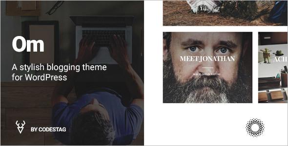 Stylish Blogging WordPress Template