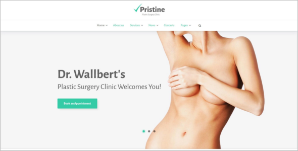 Surgery clinic WordPress Template
