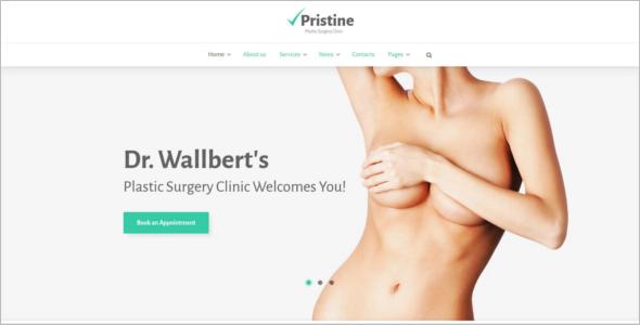 Surgery clinic WordPress Template