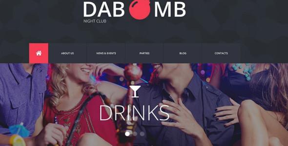 Top Night Club Website Themes & Templates