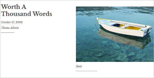 Typography Directory WordPress Template