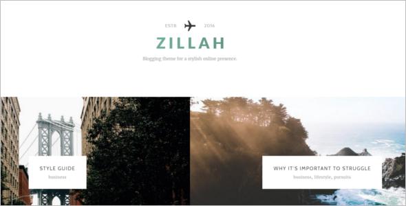 Typoraphy Plugin WordPress Template
