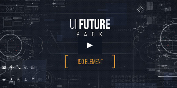 UI Future Pack Infographic Template