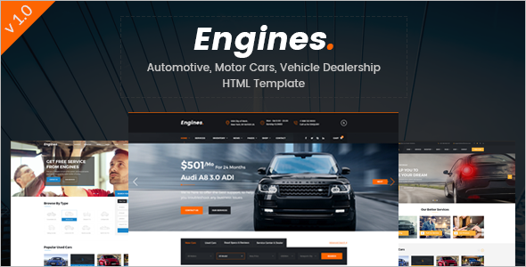 Vehicle Dealership WordPress Theme