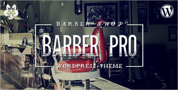 Vintage Barber Pro WordPress Template