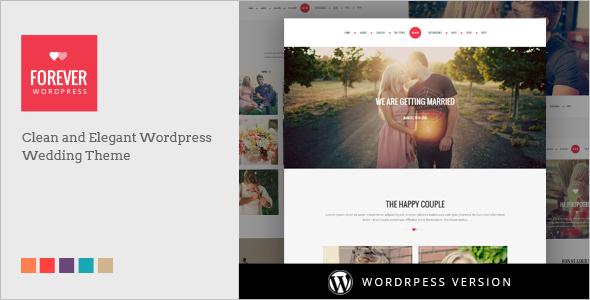Vintage Wedding WordPress Template