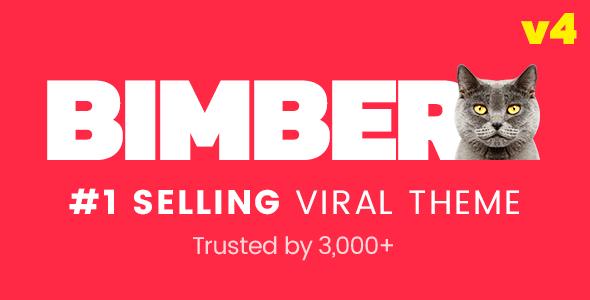 Viral Magazine WordPress Template
