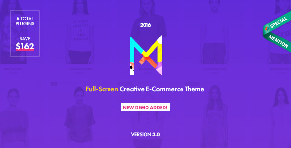 Visual Functional E-commerce WordPress Theme