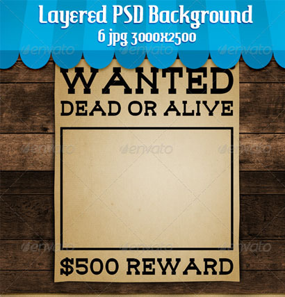 35 Wanted Poster Templates Free Printable Word Doc Excel PSD – Free Wanted Poster Template for Kids