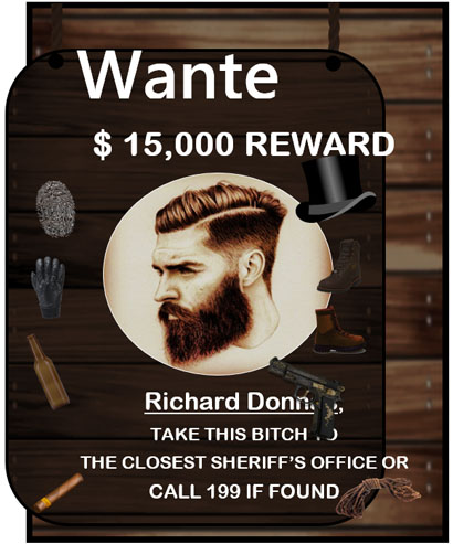 Wanted Poster Template Creative Template