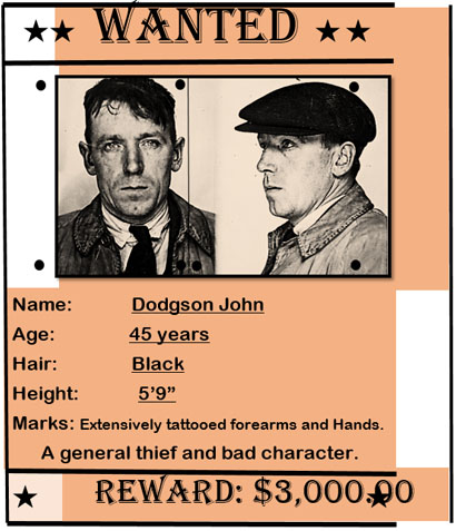 Wanted Poster Template Designs