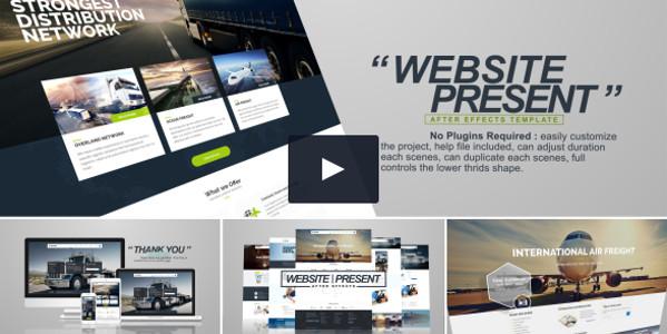 Website Presentation Product Promo Video Tutorial