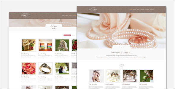 Wedding Arrengement WordPress Template