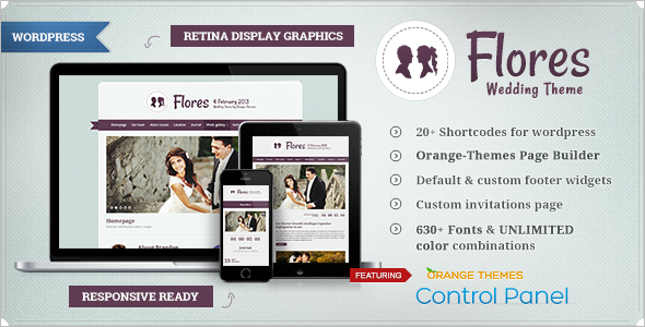 Wedding Blog WordPress Template