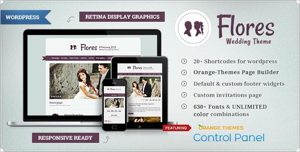 Wedding Blog WordPress Template