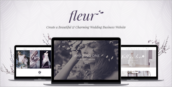 Wedding Celebrations WordPress Template