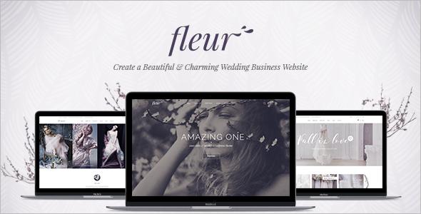 Wedding Celebrations WordPress Template
