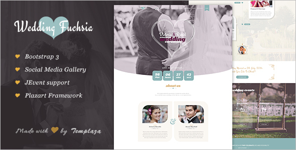 Wedding Ceremony WordPress Template