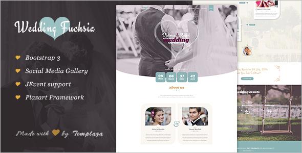 Wedding Ceremony WordPress Template