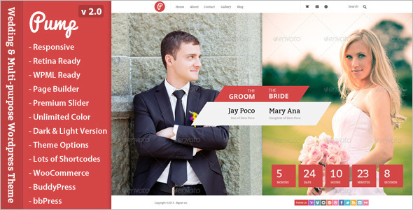 Wedding Composer WordPress Template