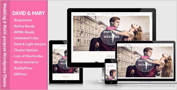 Wedding Design WordPress Template