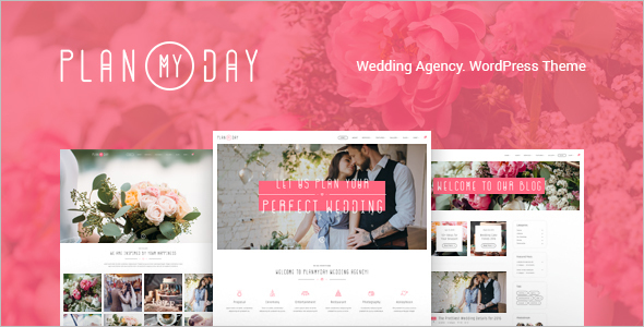 Wedding Event WordPress Template