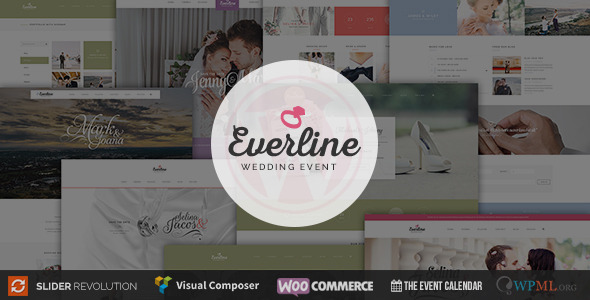 Wedding Event WordPress Templates