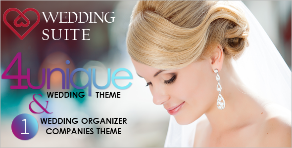Wedding Groomsmen WordPress Template