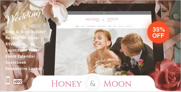 Wedding Guestbook WordPress Template