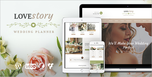 Wedding Planner WordPress Template