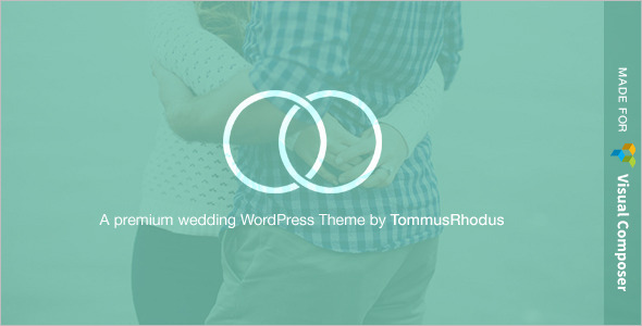 Wedding Tommusrhodus WordPress Template