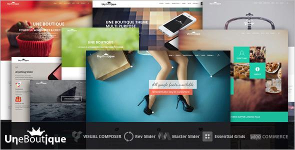 WooCommerce Boutique Website Template