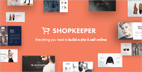 WooCommerce E-commerce WordPress Template