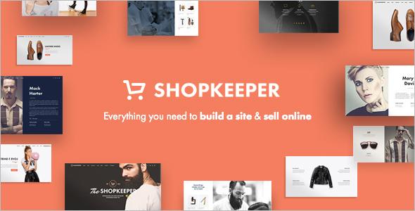 WooCommerce E-commerce WordPress Template