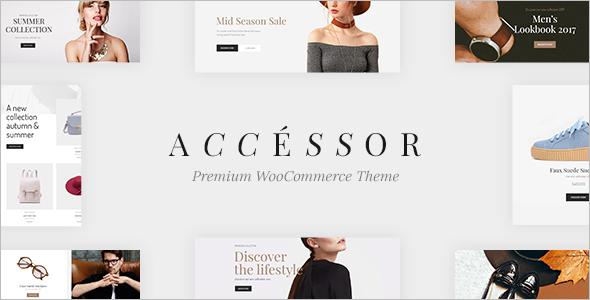 WooCommerce Shopping WordPress Template