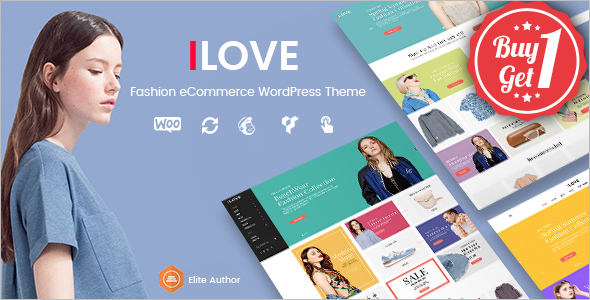 WooCommerce WordPress Template