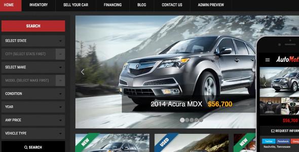 WordPress Car Dealer Theme